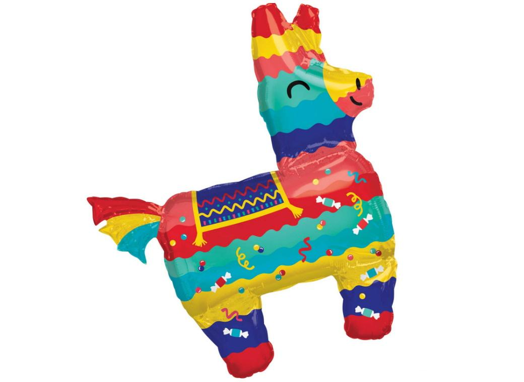 Fiesta Pinata SuperShape Foil Balloon