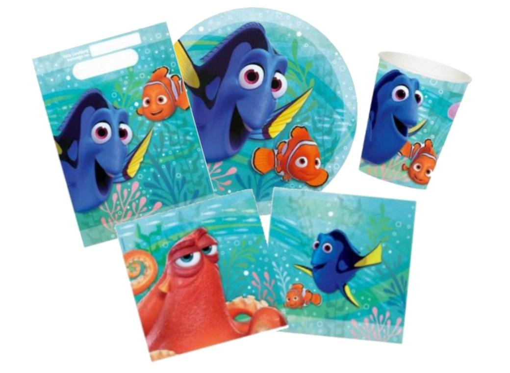 Finding Dory Party Pack - 40pce