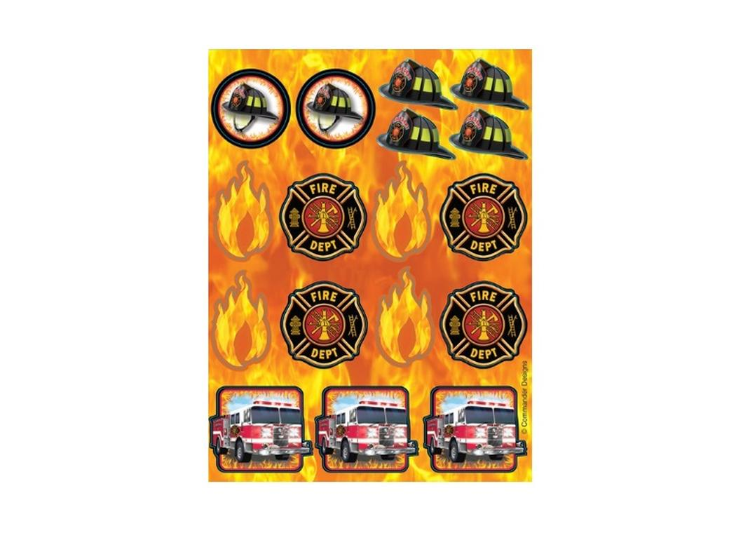 Fire Watch Foil Stickers