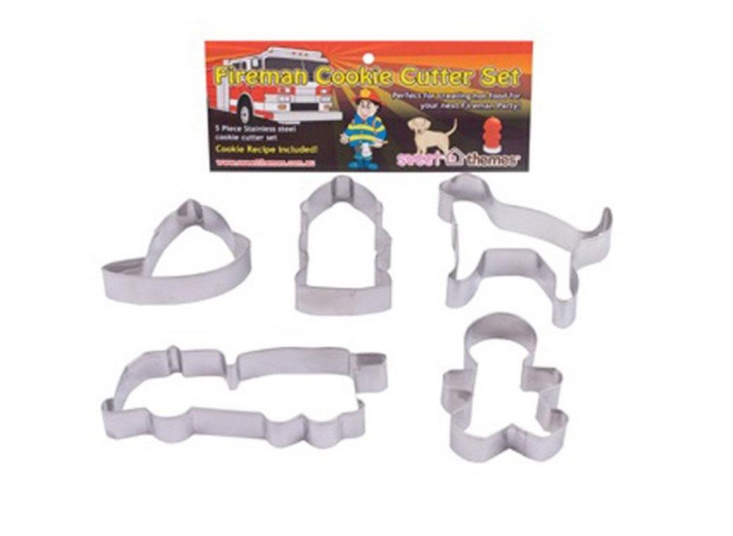 Fireman Cookie Cutter Set