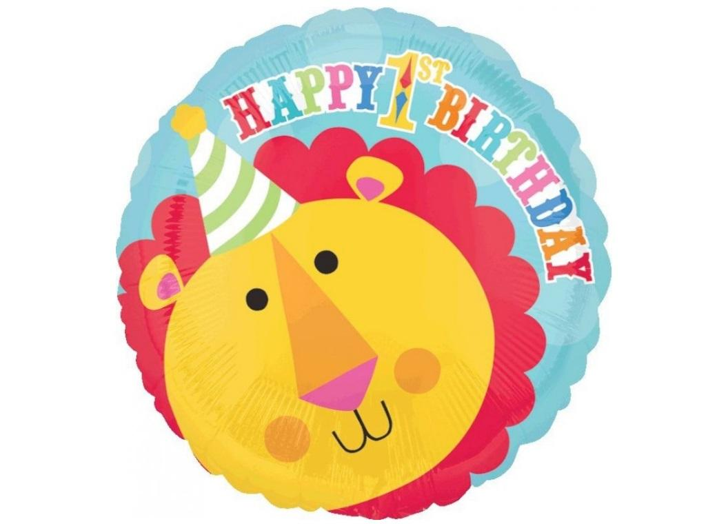 Fisher Price 1st Birthday Circus Foil Balloon