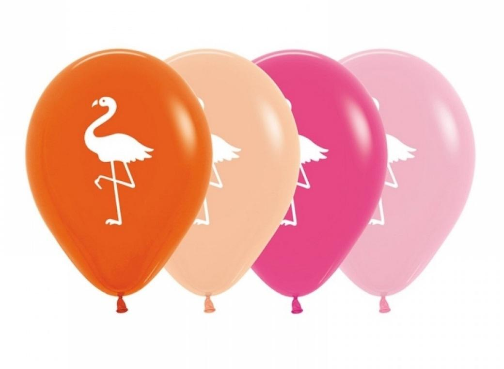 Flamingo Balloons 5pk