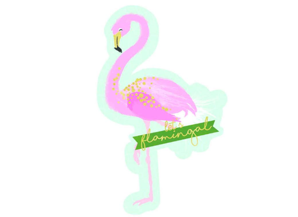 Flamingo Invitations 8pk