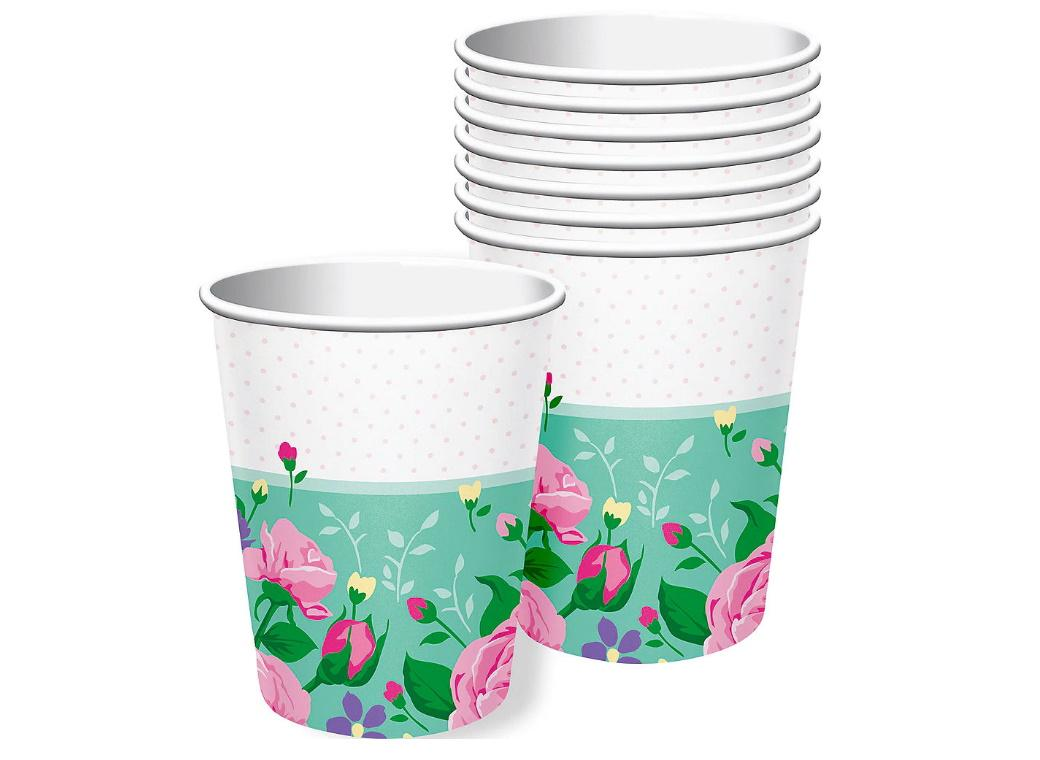 Floral Fairy Cups 8pk