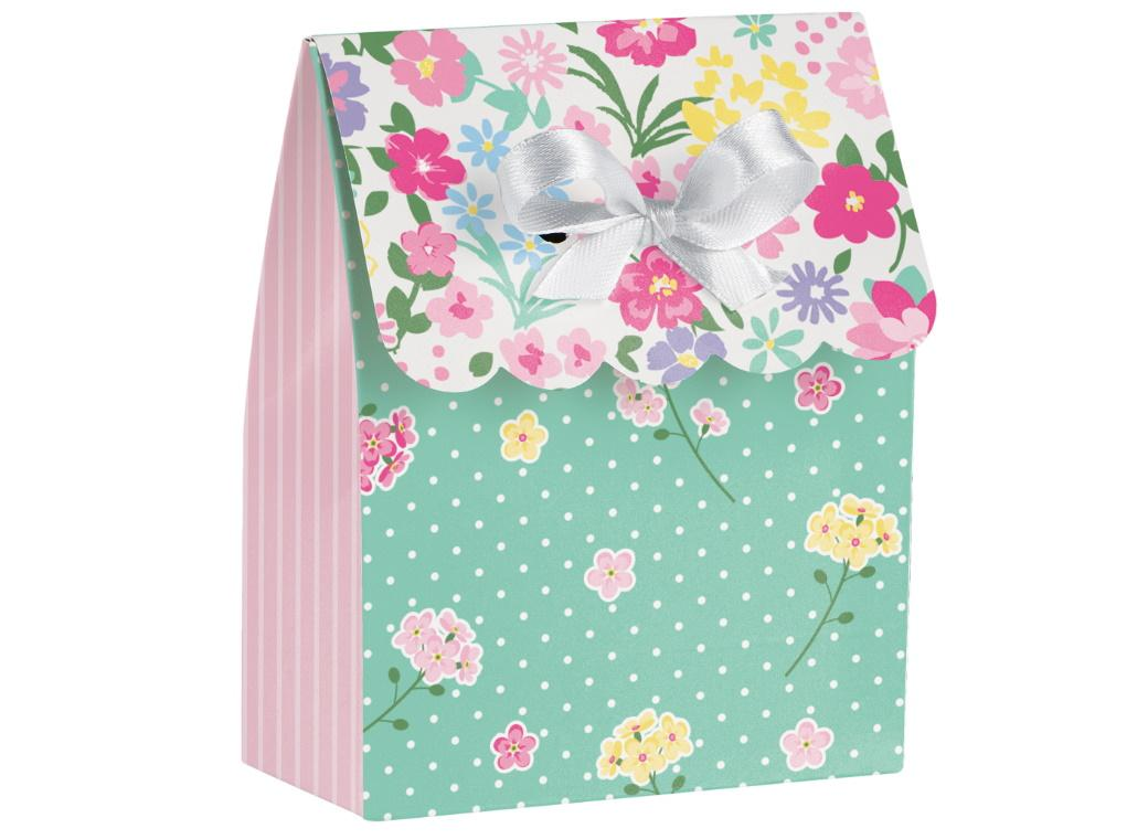 Floral Tea Party Favour Bags 12pk