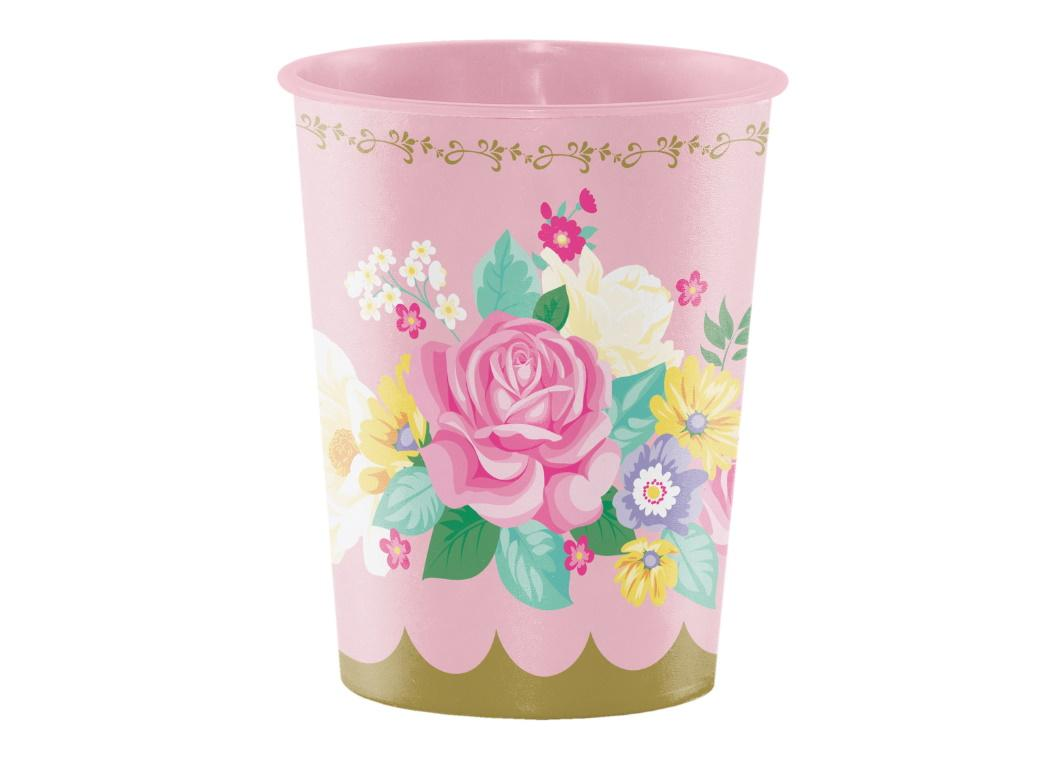 Floral Tea Party Keepsake Cup
