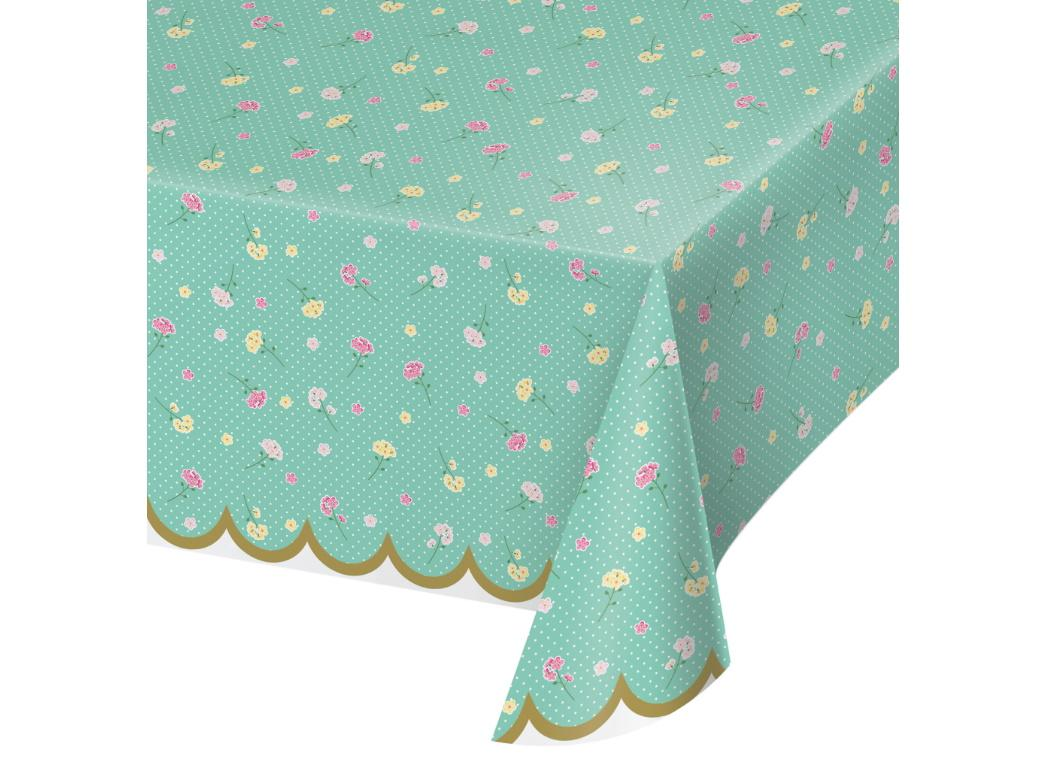 Floral Tea Party Tablecover