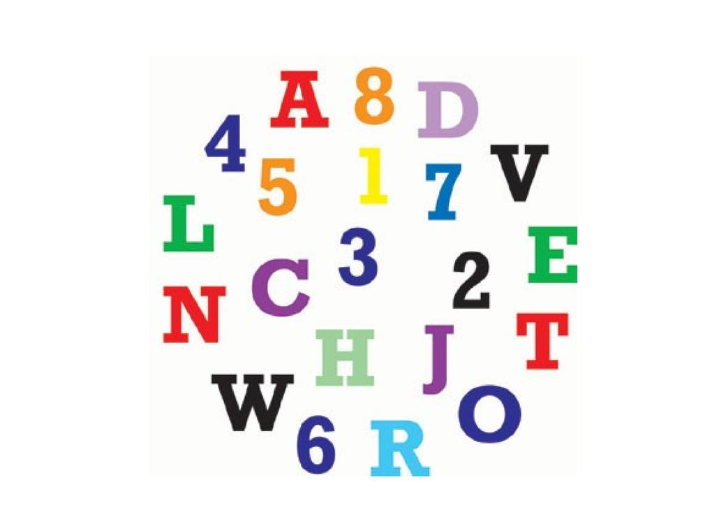 FMM Alphabet & Numbers Tappit Set - Upper Case