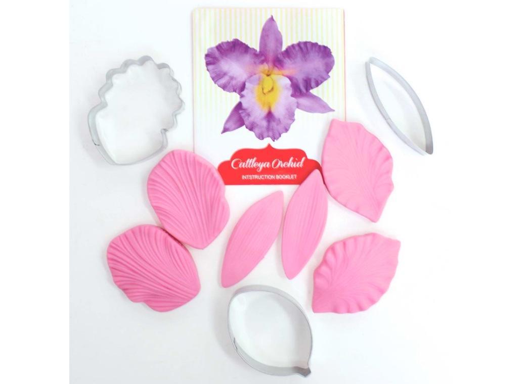 Fondant Cutter Set - Cattleya Orchid