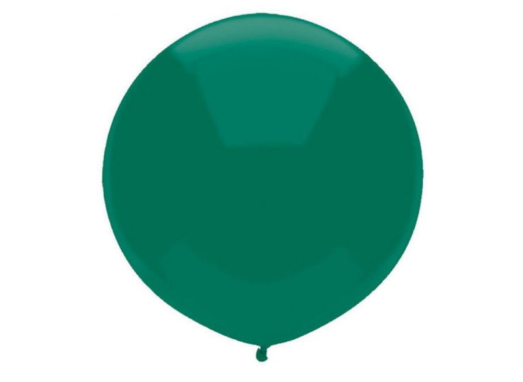 43cm Balloon - Forest Green