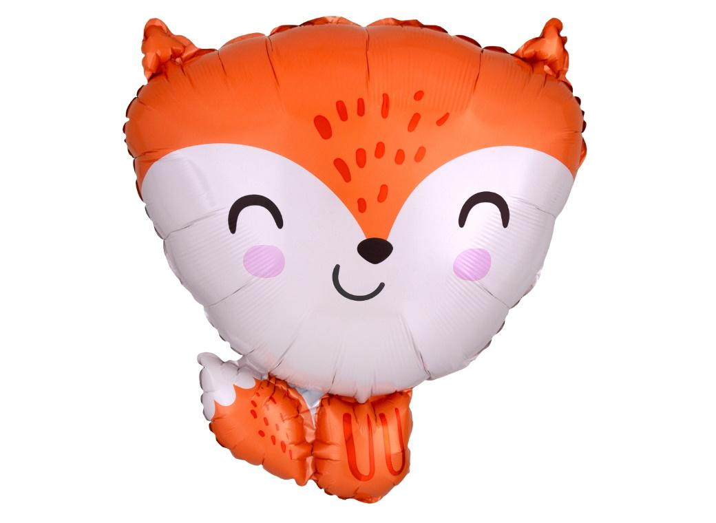 Fox Shaped Foil Balloon