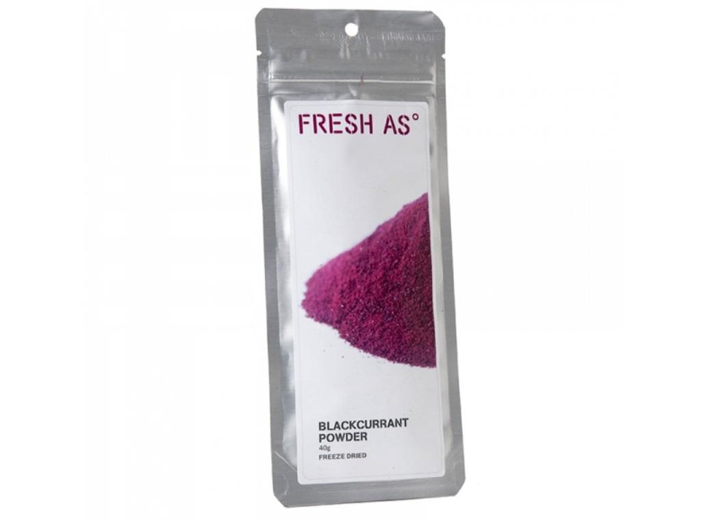 Fresh As Freeze Dried Blackcurrant Powder