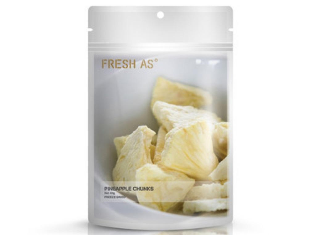 Fresh As Freeze Dried Pineapple Chunks