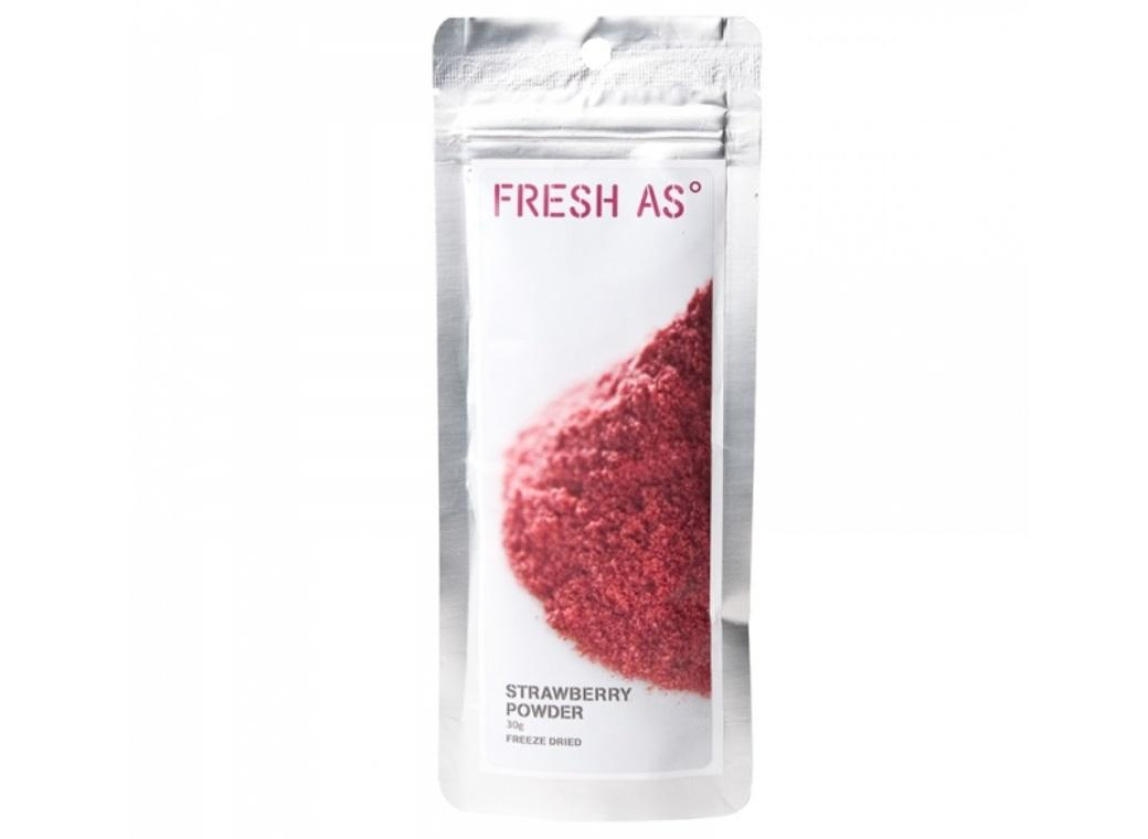 Fresh As Freeze Dried Strawberry Powder
