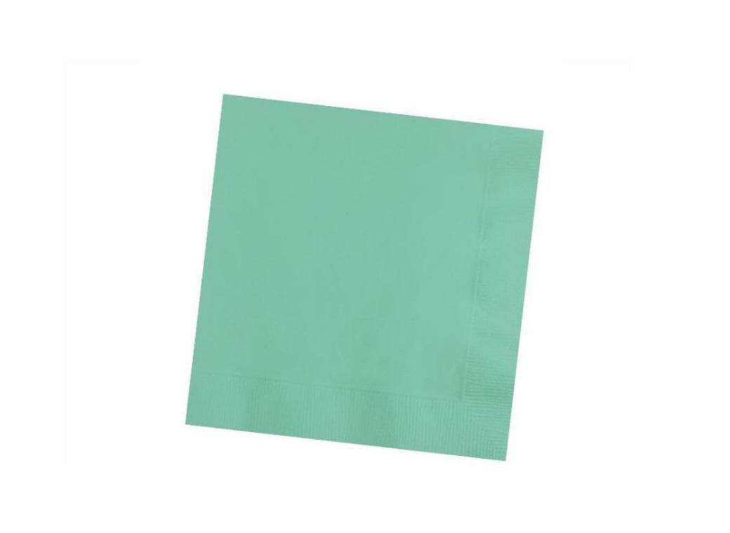 Fresh Mint Beverage Napkins - 50pk