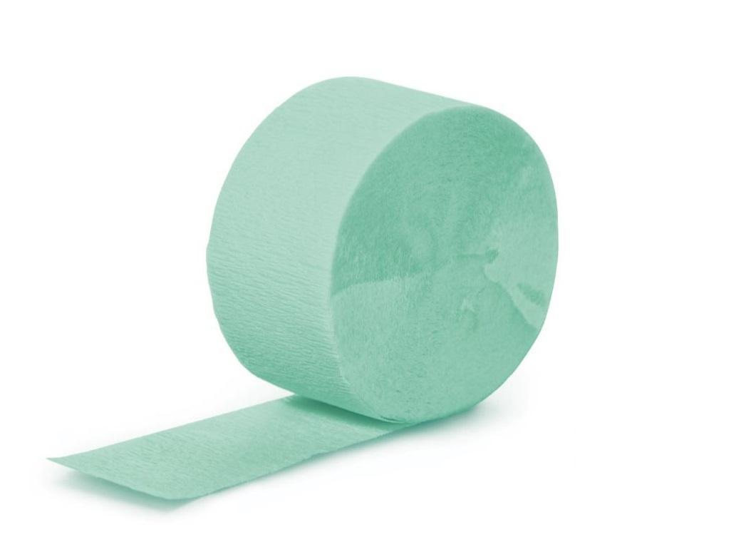 Crepe Paper Streamer - Fresh Mint