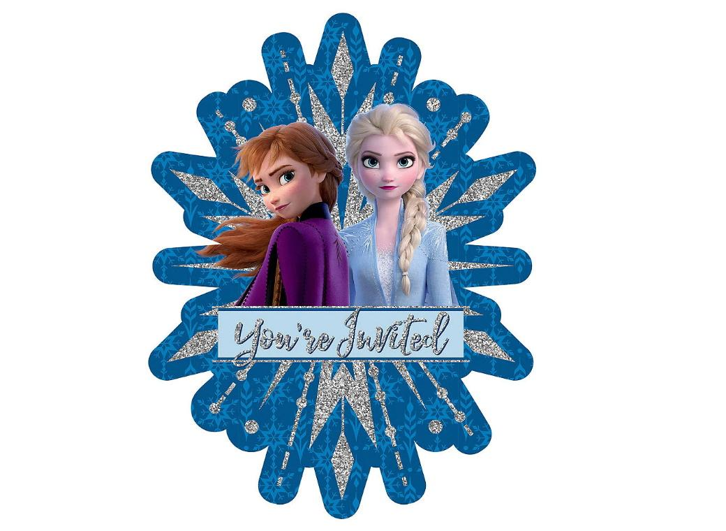 Frozen 2 Deluxe Invitations 8pk