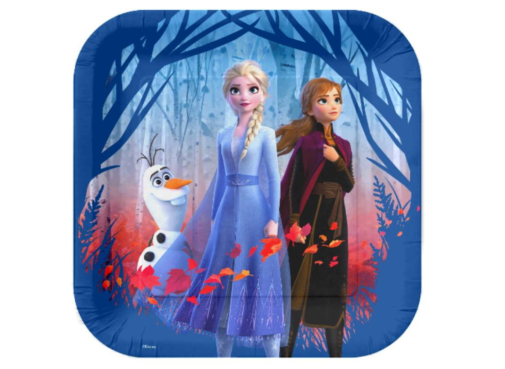 Frozen 2 Exclusive Dinner Plates 8pk