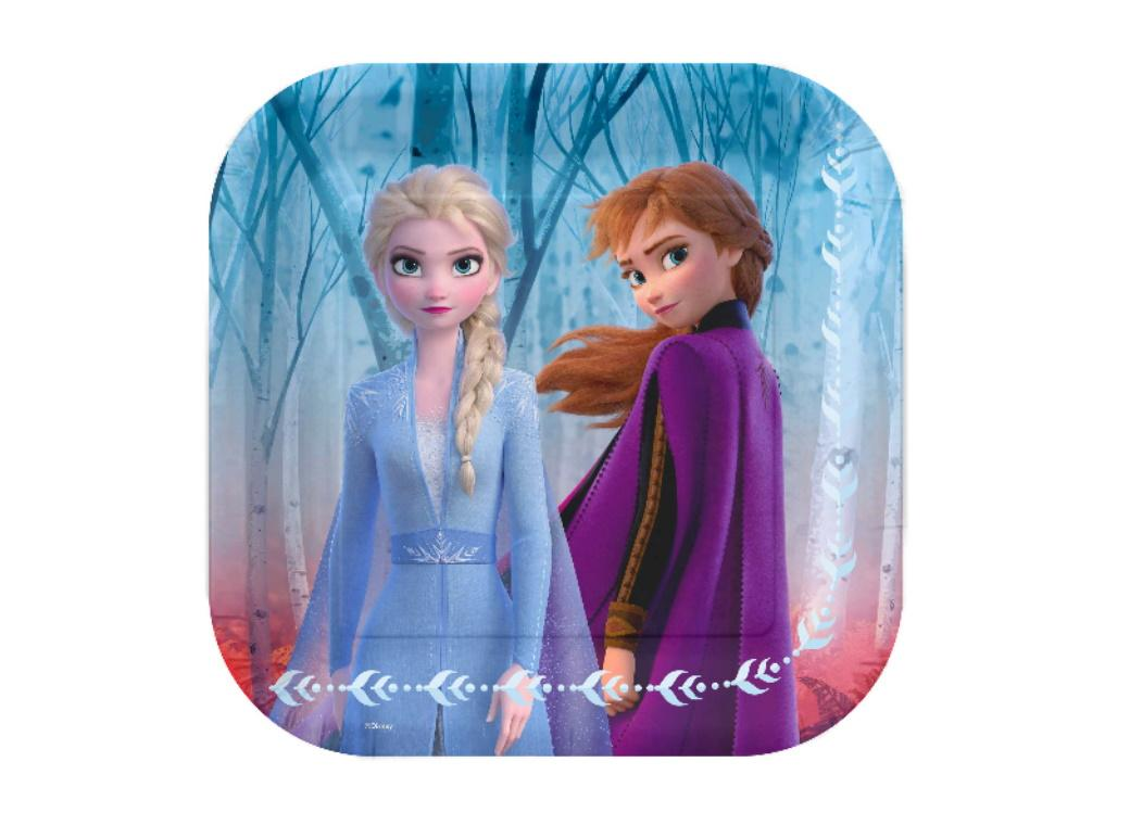 Frozen 2 Exclusive Lunch Plates 8pk