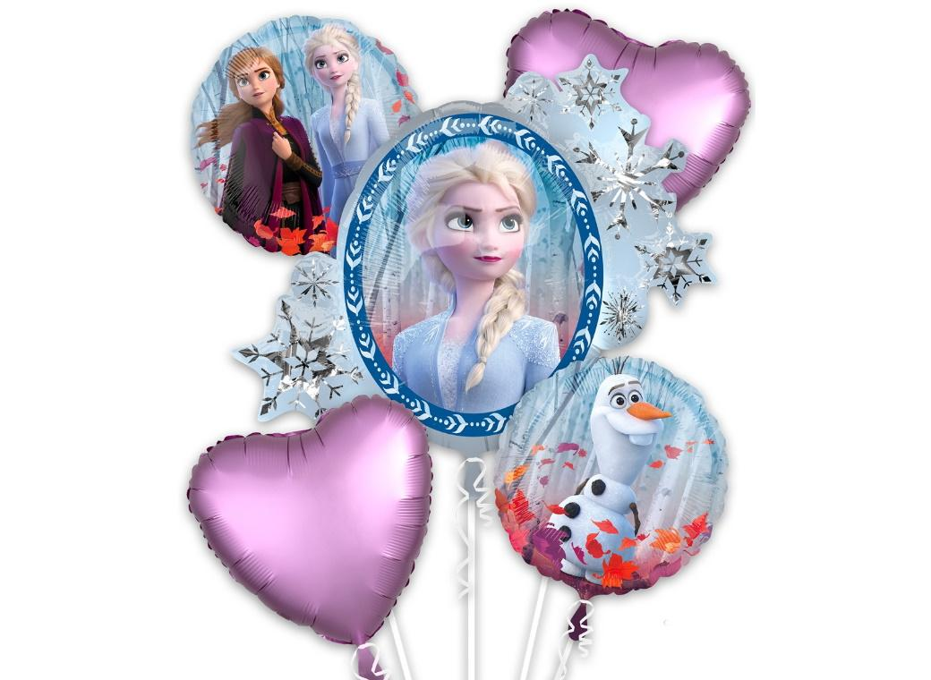 Frozen 2 Foil Balloon Bouquet