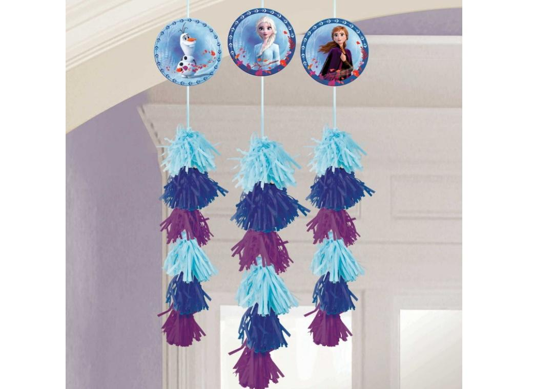 Frozen 2 Hanging Tassel Decorations