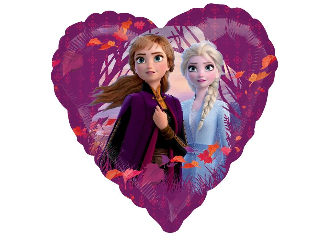 Frozen 2 Heart Foil Balloon