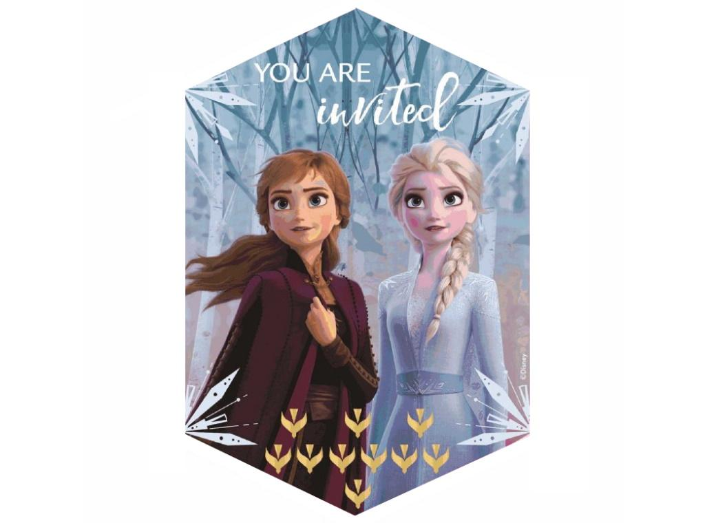 Frozen 2 Invitations 8pk