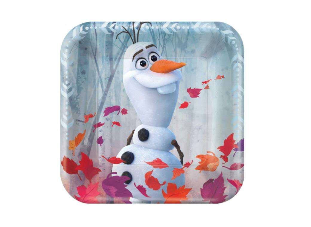 Frozen 2 Lunch Plates 8pk