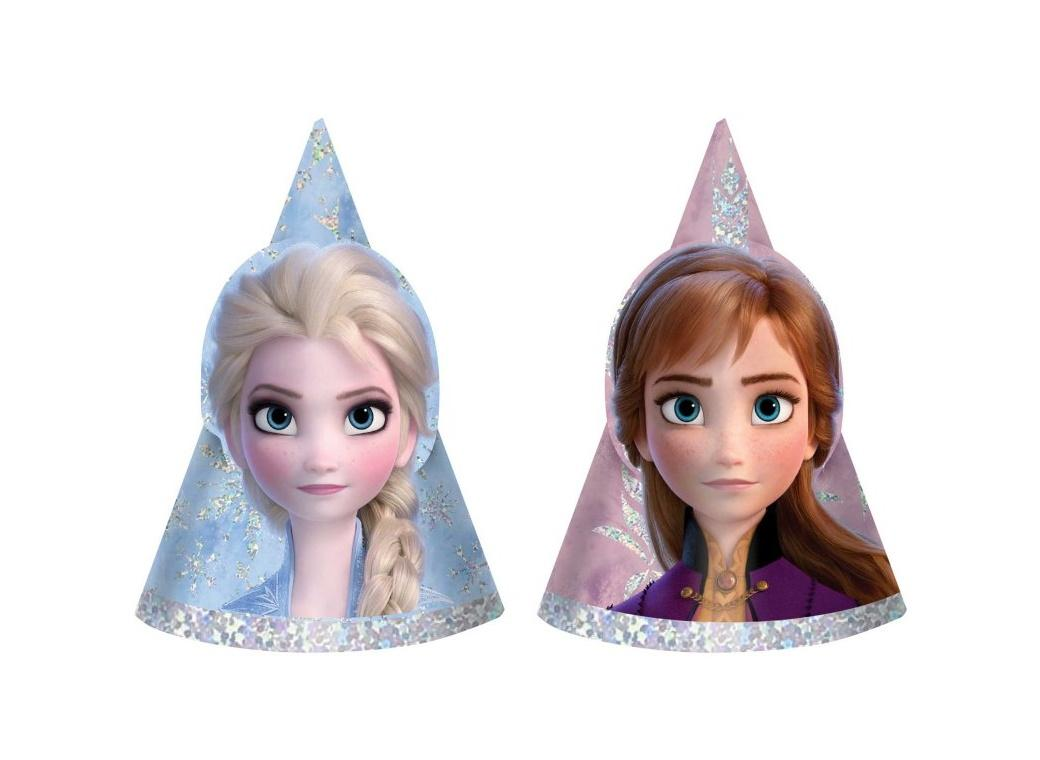 Frozen 2 Mini Party Hats 8pk