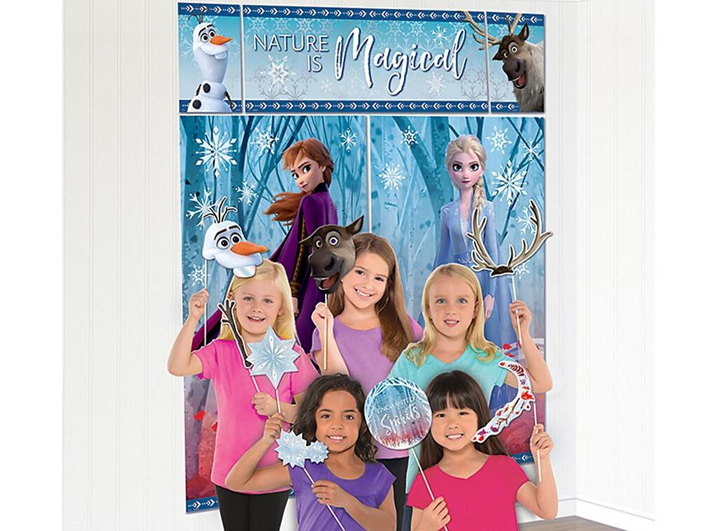 Frozen 2 Scene Setter & Photo Props