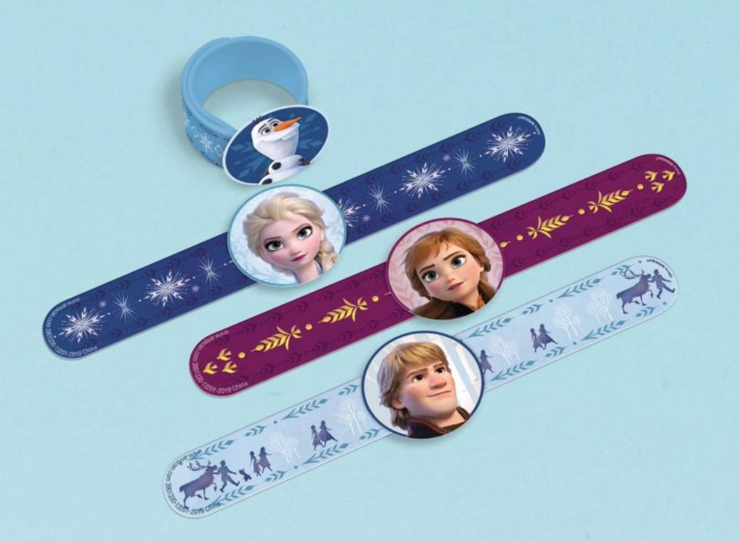 Frozen 2 Slap Bands 4pk