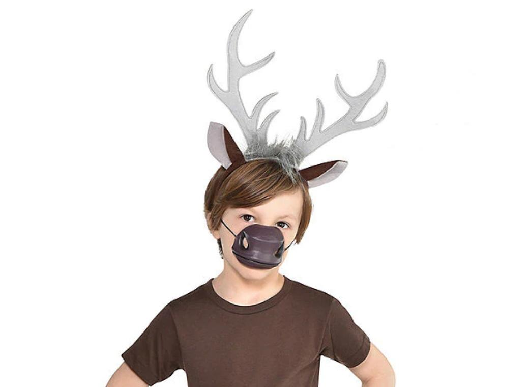 Frozen 2 Sven Antler Headband & Nose Kit