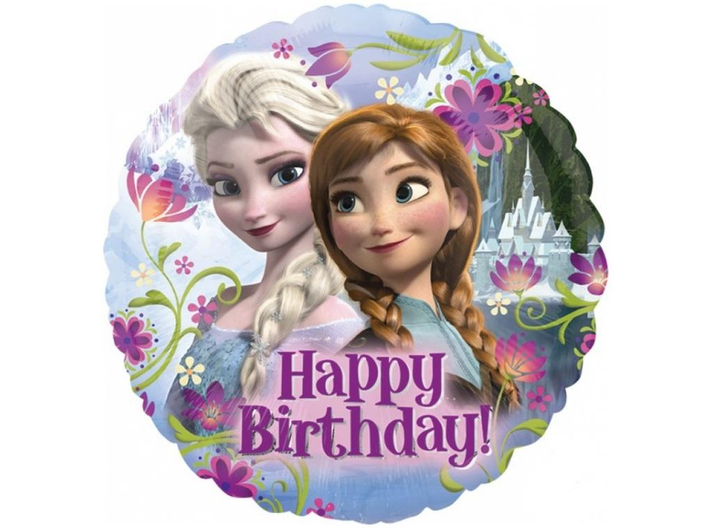 Frozen Happy Birthday Foil Balloon