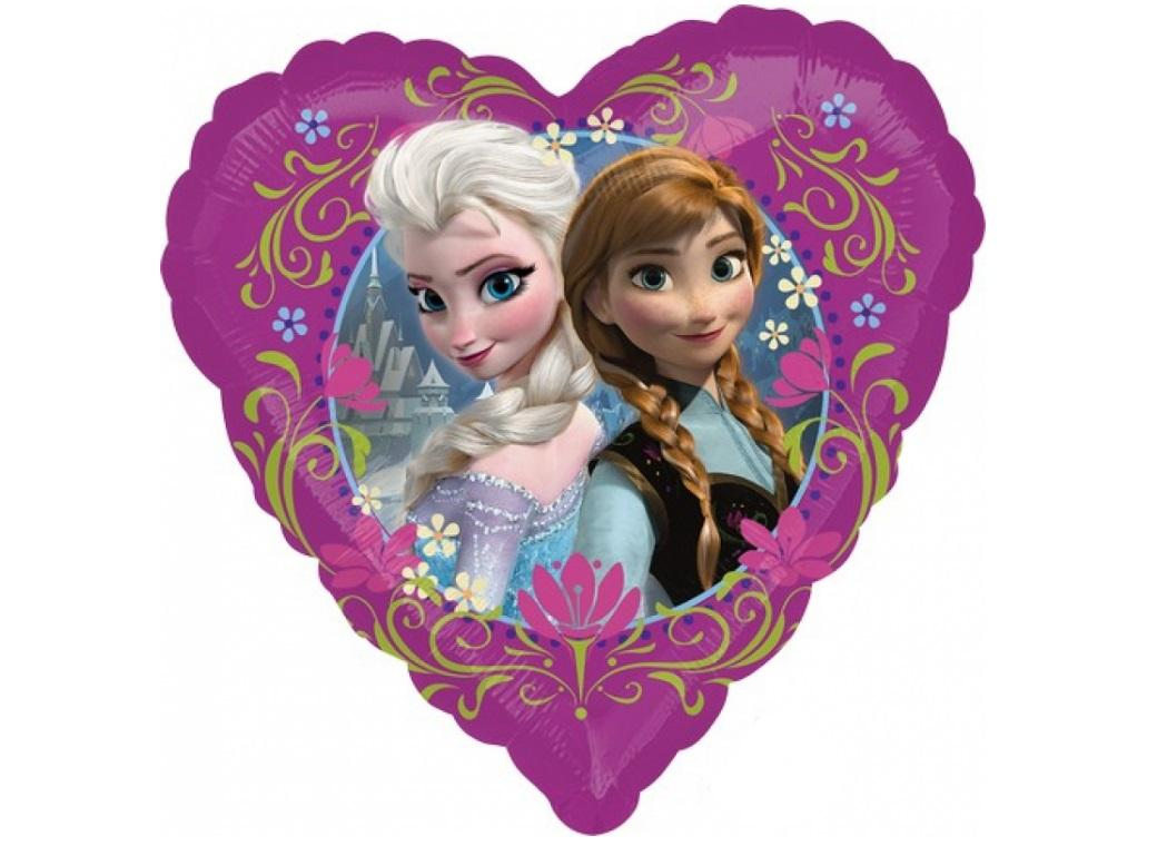 Frozen Heart Foil Balloon