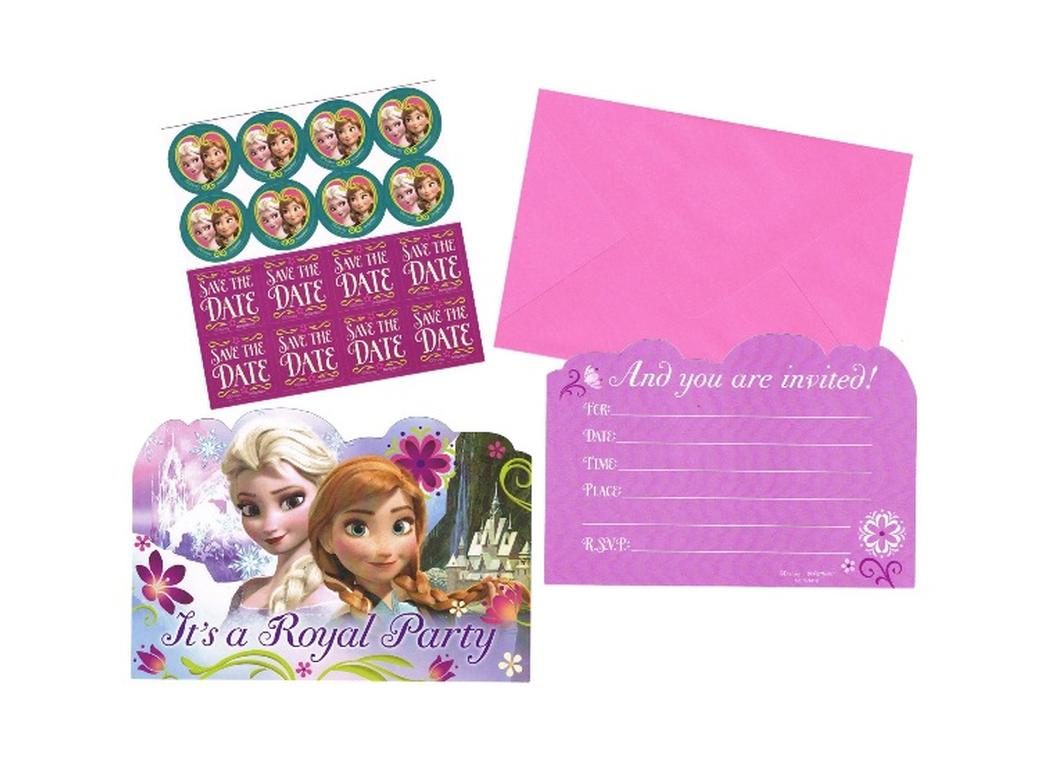 Disney Frozen Invitations - 8pk