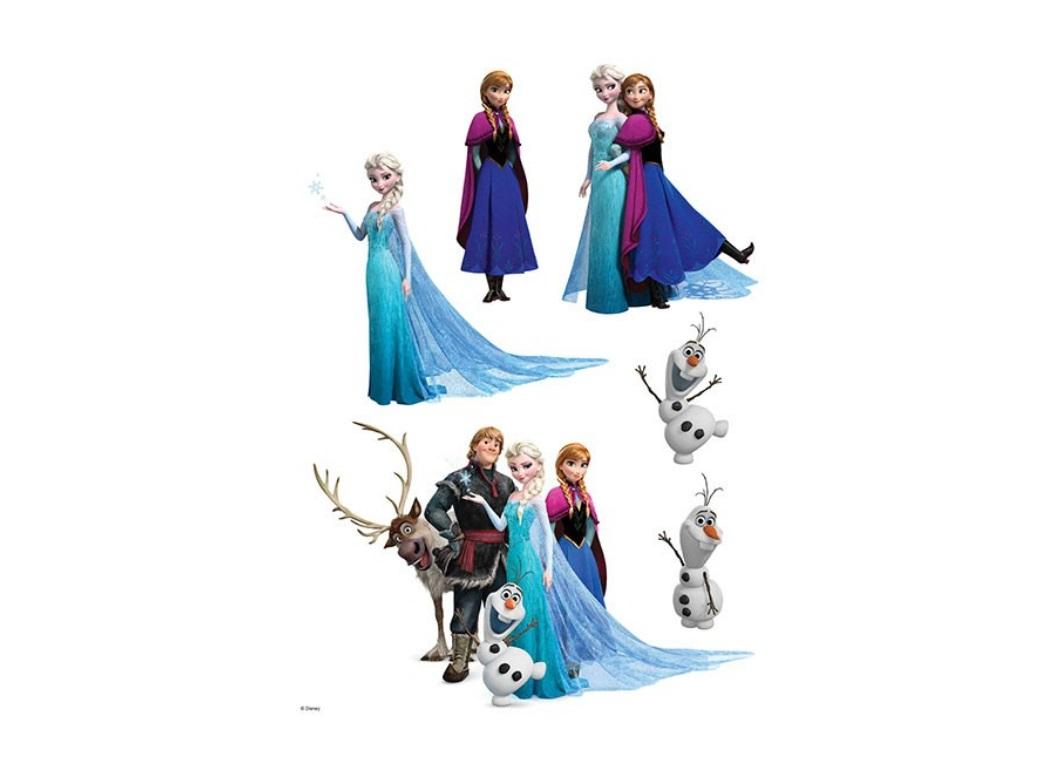 Edible Icing Image - Frozen Characters