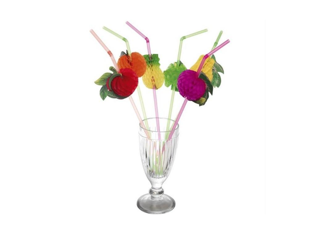 Fruit Straws - 6pk