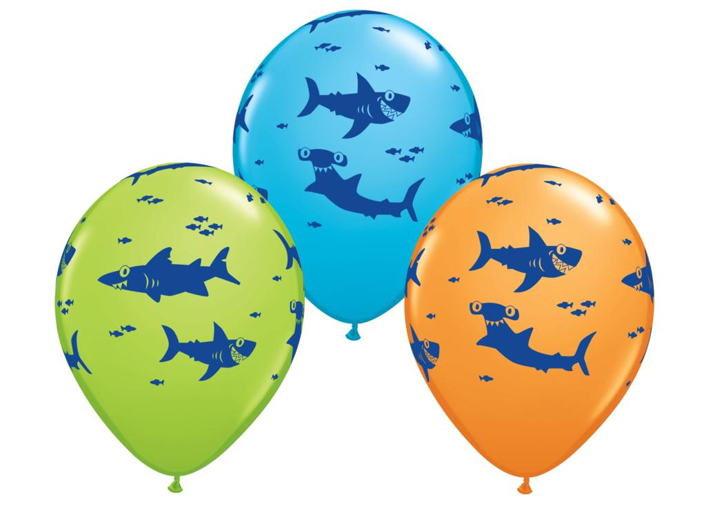 Fun Sharks Balloon