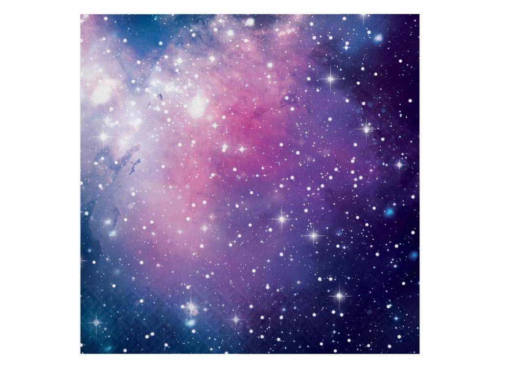 Galaxy Lunch Napkins 16pk
