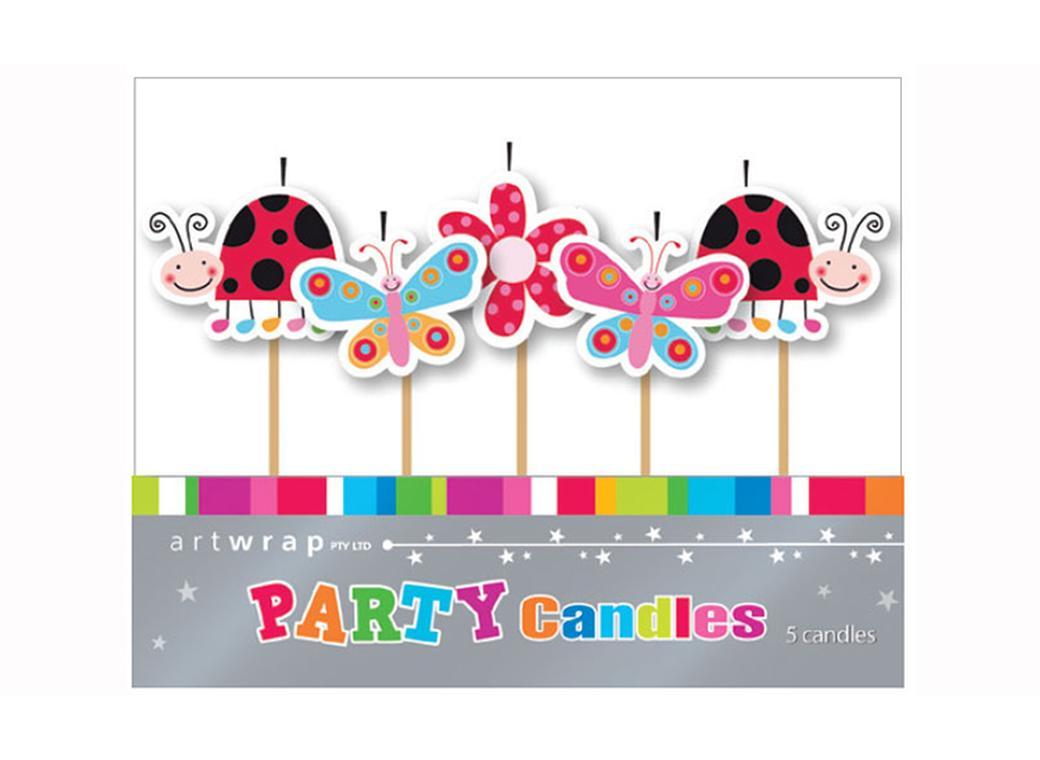 Party Candles - Garden Party