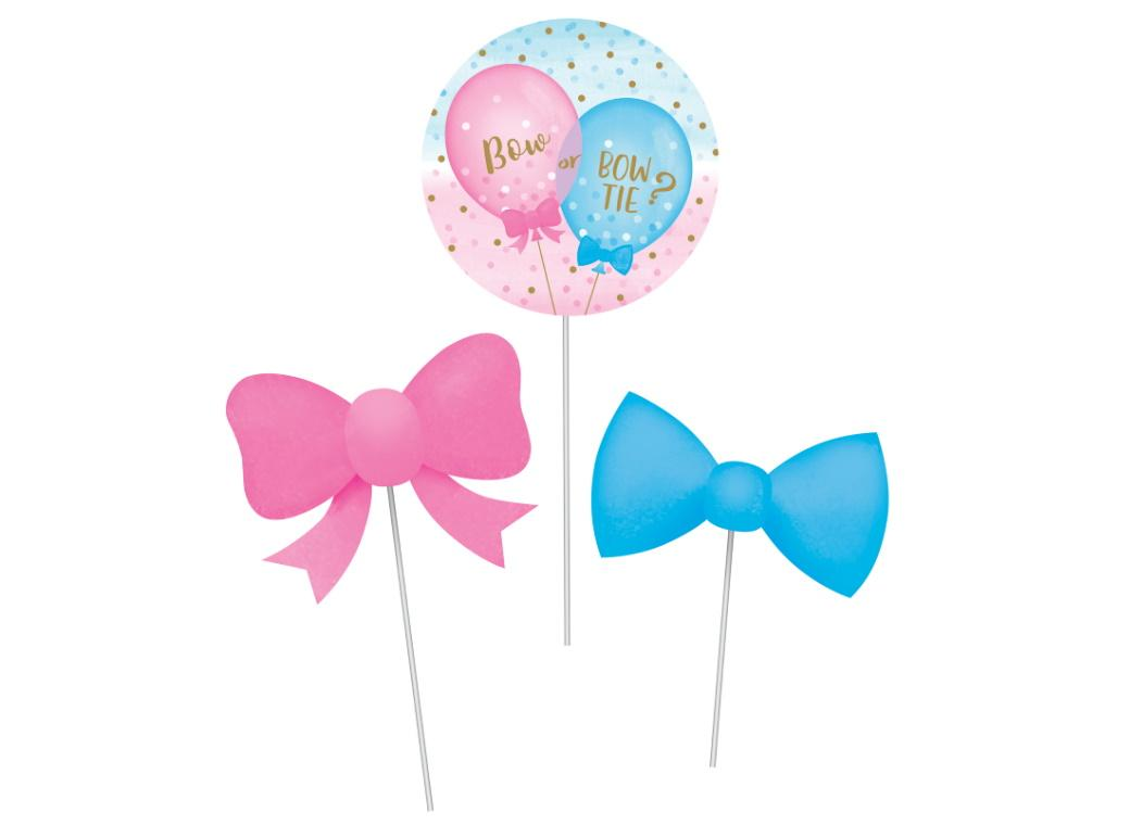 Gender Reveal Balloons DIY Centrepiece