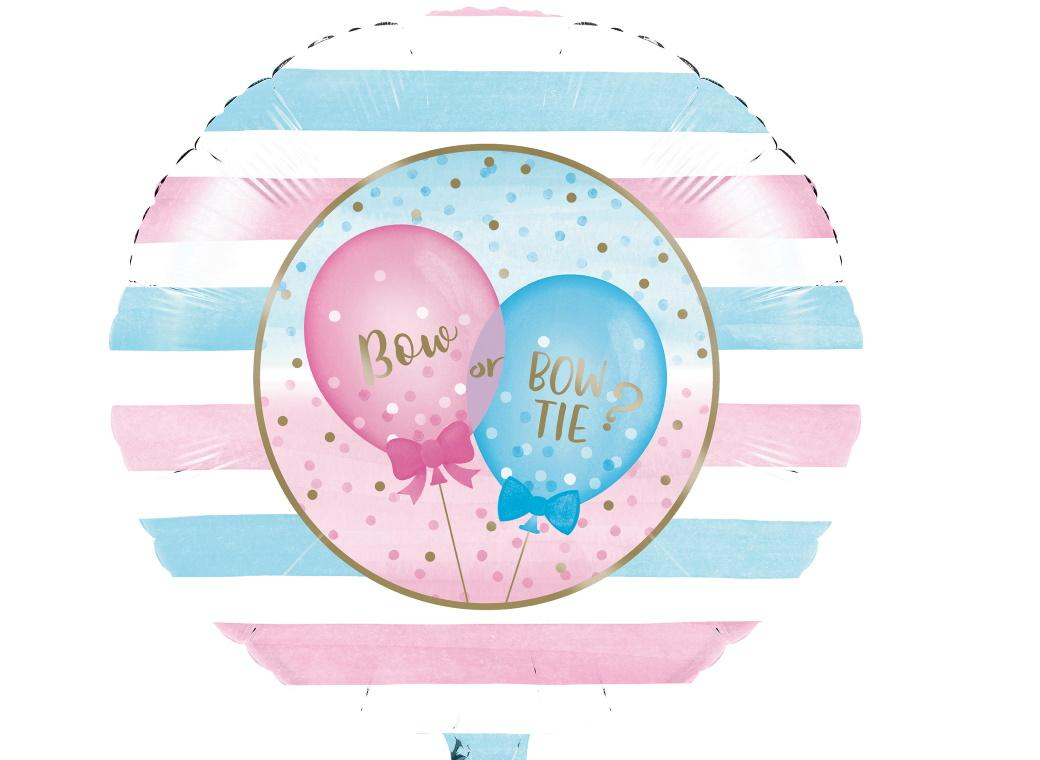 Gender Reveal Balloons Foil Balloon