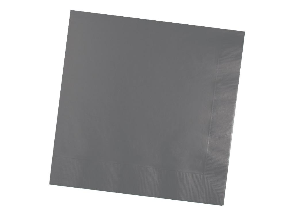 Glamour Grey Lunch Napkins 50pk