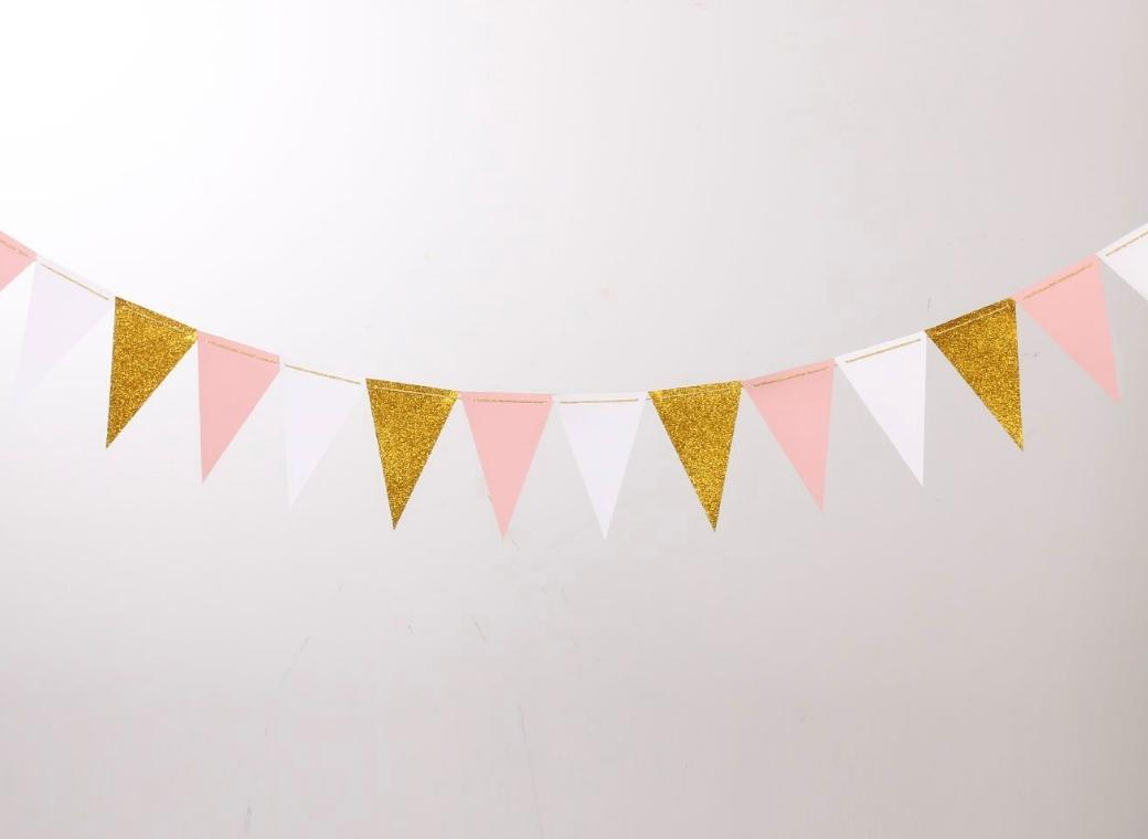 Sweet Pea Parties Bunting Flags Party Decorations