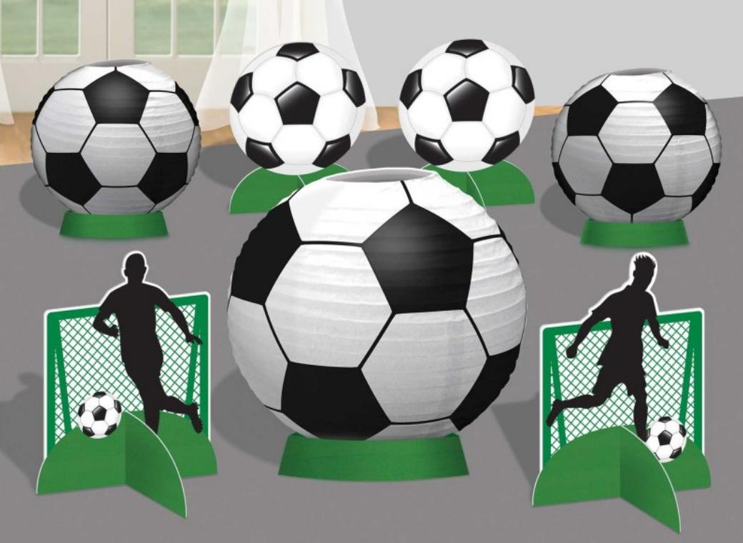 Goal Getter Soccer Table Decorating Kit