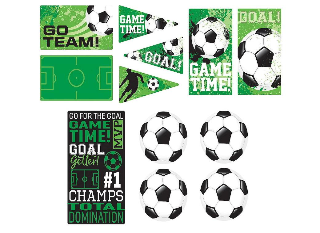 Goal Getter Soccer Wall Cutouts