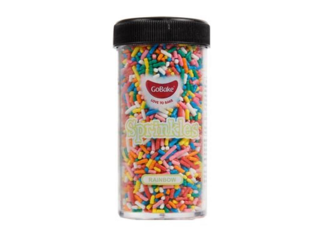 GoBake Sprinkles - Rainbow Hail