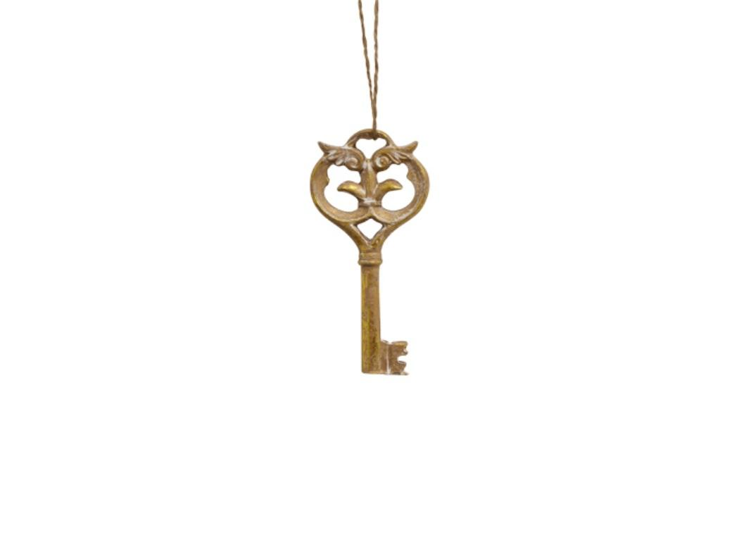Gold Wing Key Decoration