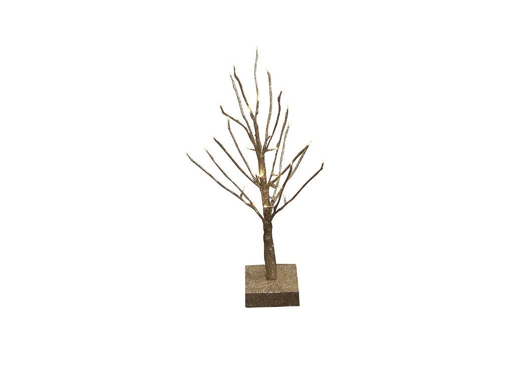 Gold Light Up Christmas Tree - Little