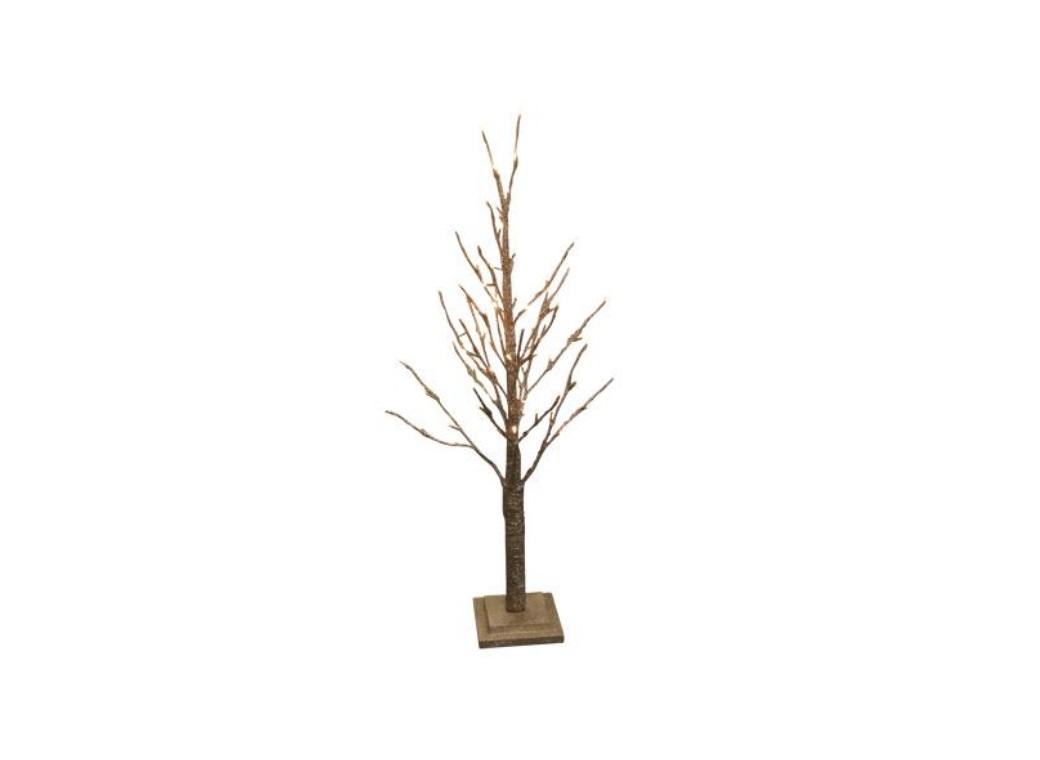 Gold Light Up Christmas Tree - Small